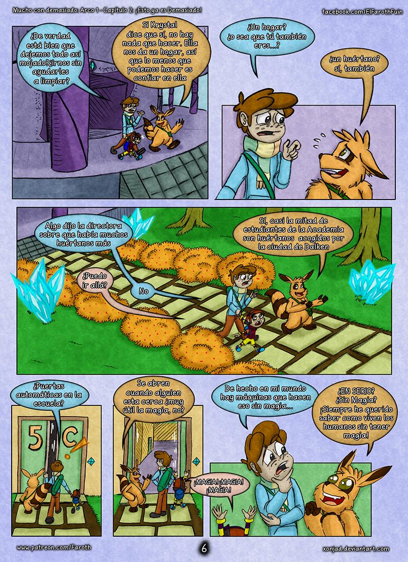 Cap 2 - pag 6: Huérfanos