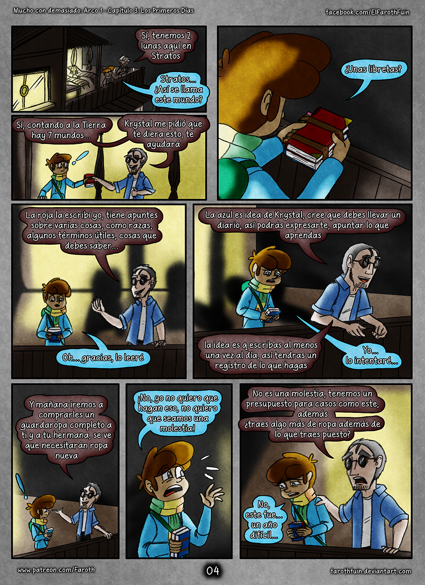 Cap 3 - Pag 4: Año Difícil