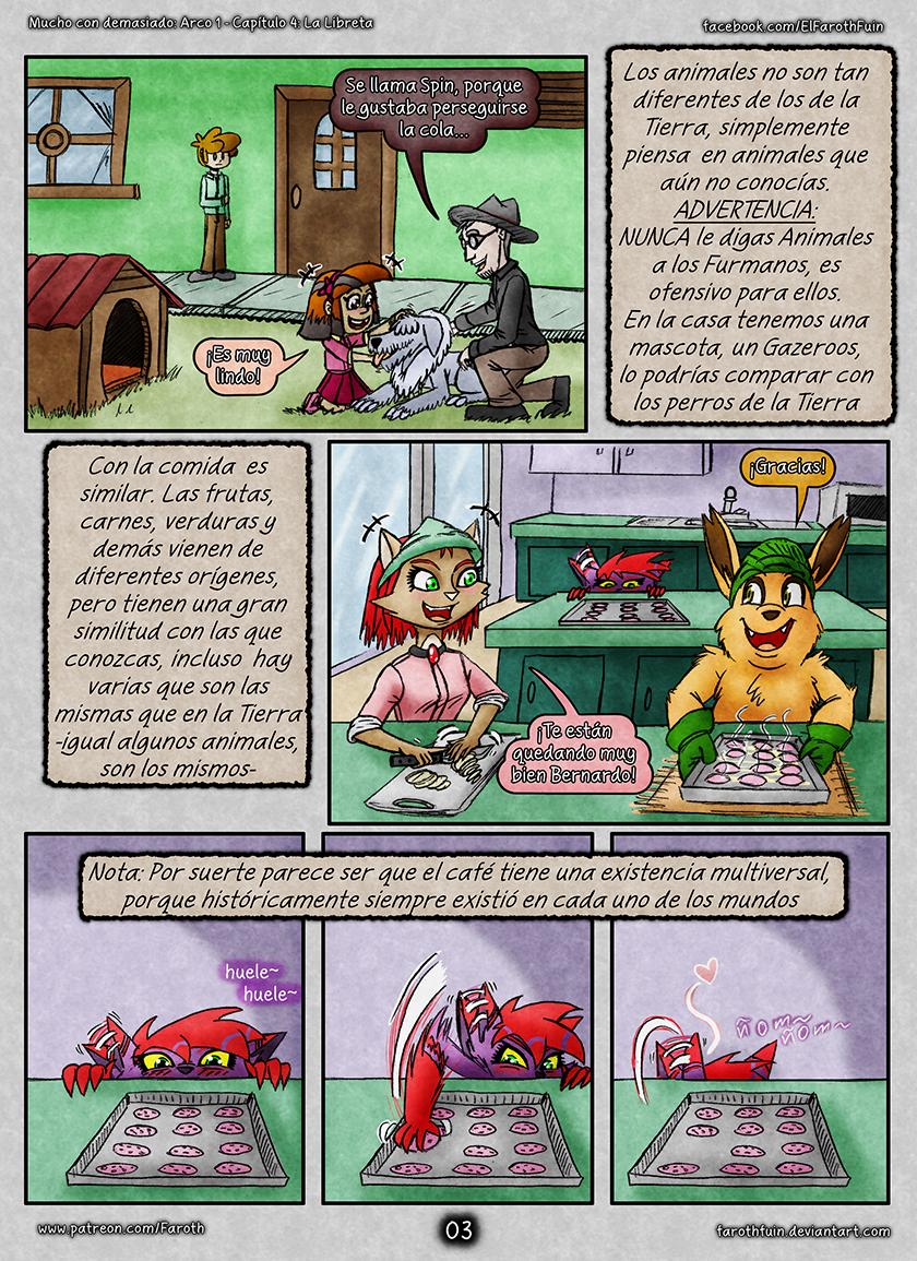Cap 4 - Pag 03: Mascotas y Comida