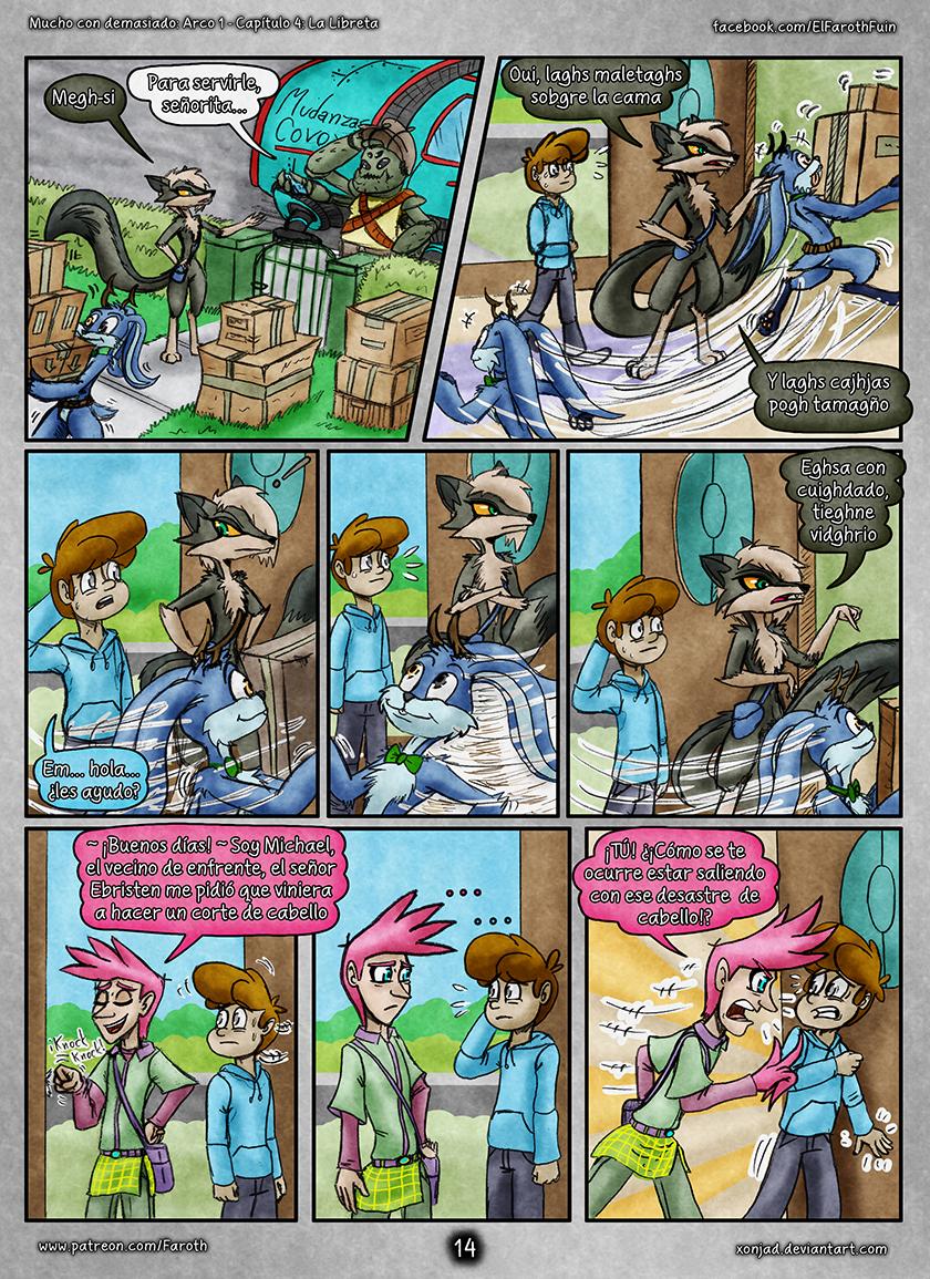 Cap 4 - Pag 14: Llegada de Sasha